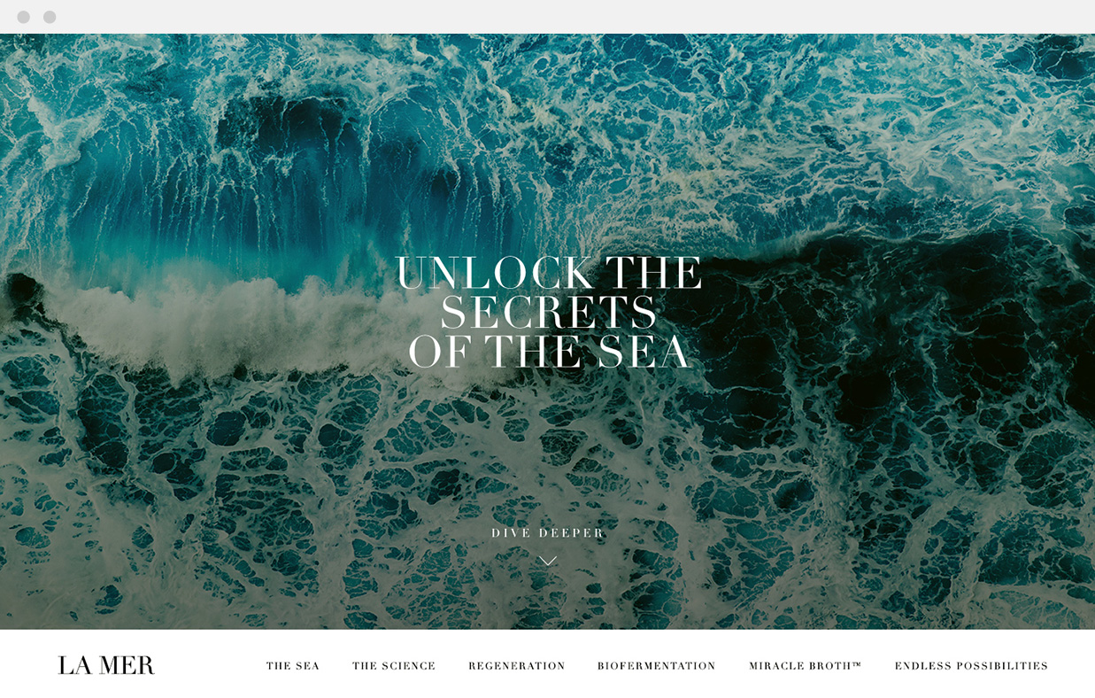 La Mer — Secrets of the Sea