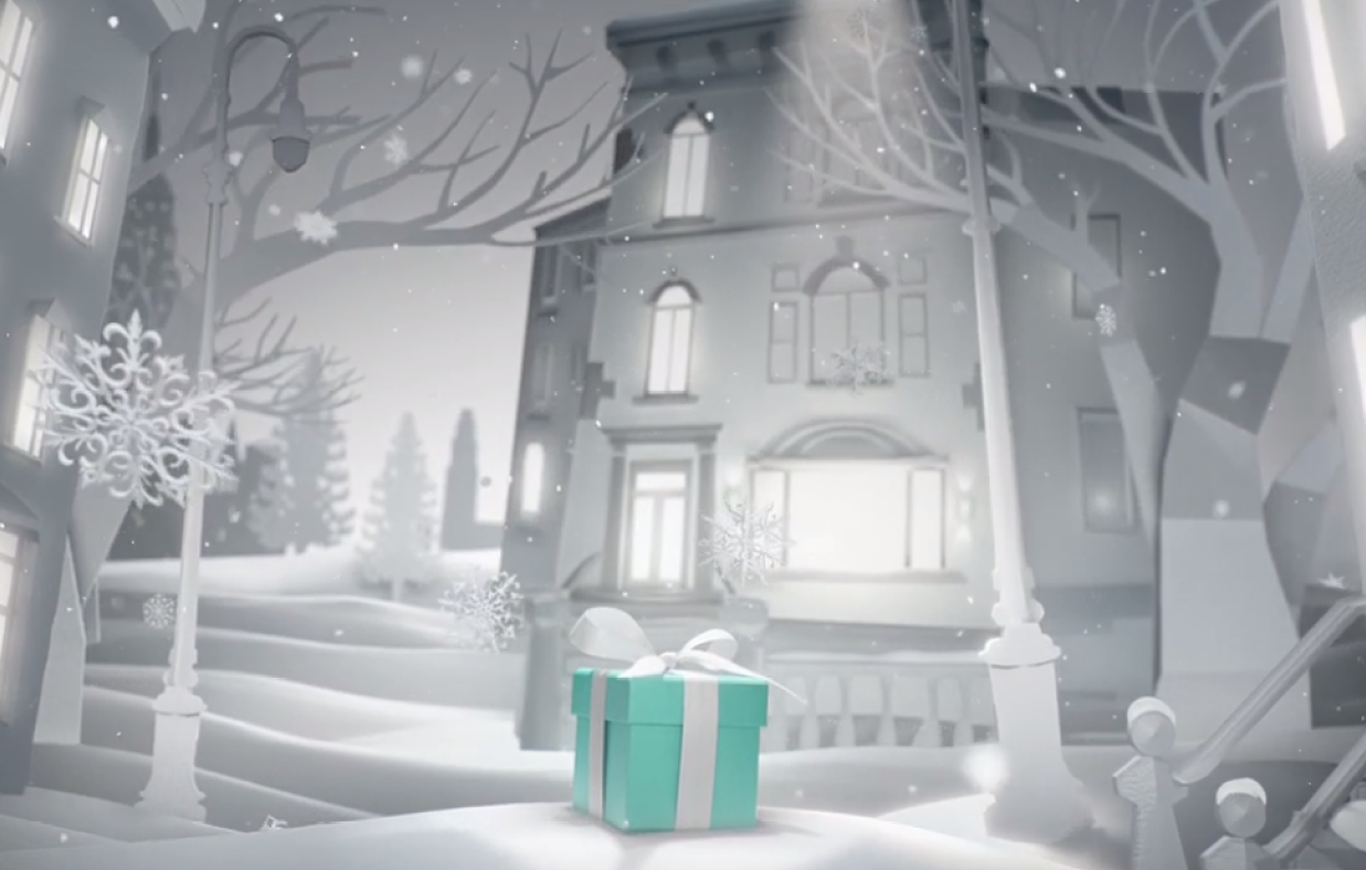 Tiffany & Co. — Joy Comes Out of the Blue